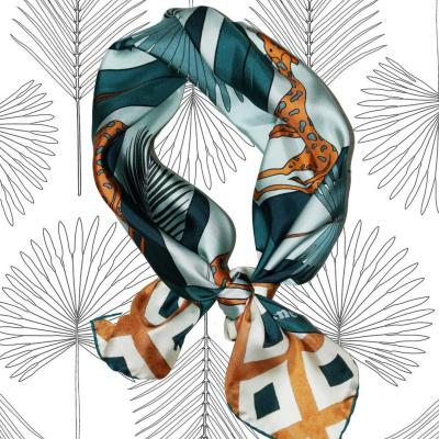 Foulard lost giraffe - Soie.Meme - Bijoux et Accessoires - SMLG1