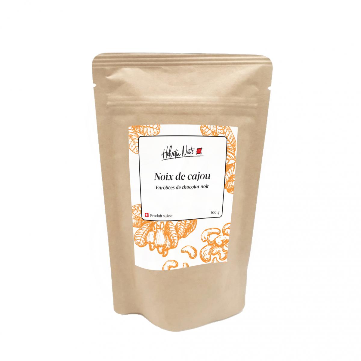 Noix de cajou chocolat noir - Helvetia Nuts - Sucré - HN6