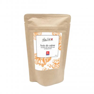 Noix de cajou - chocolat noir et Fleur de Sel - Helvetia Nuts - Sucré - HN7
