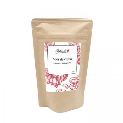 Noix de cajou et mangue séchée bio - Helvetia Nuts - Sucré - HN8