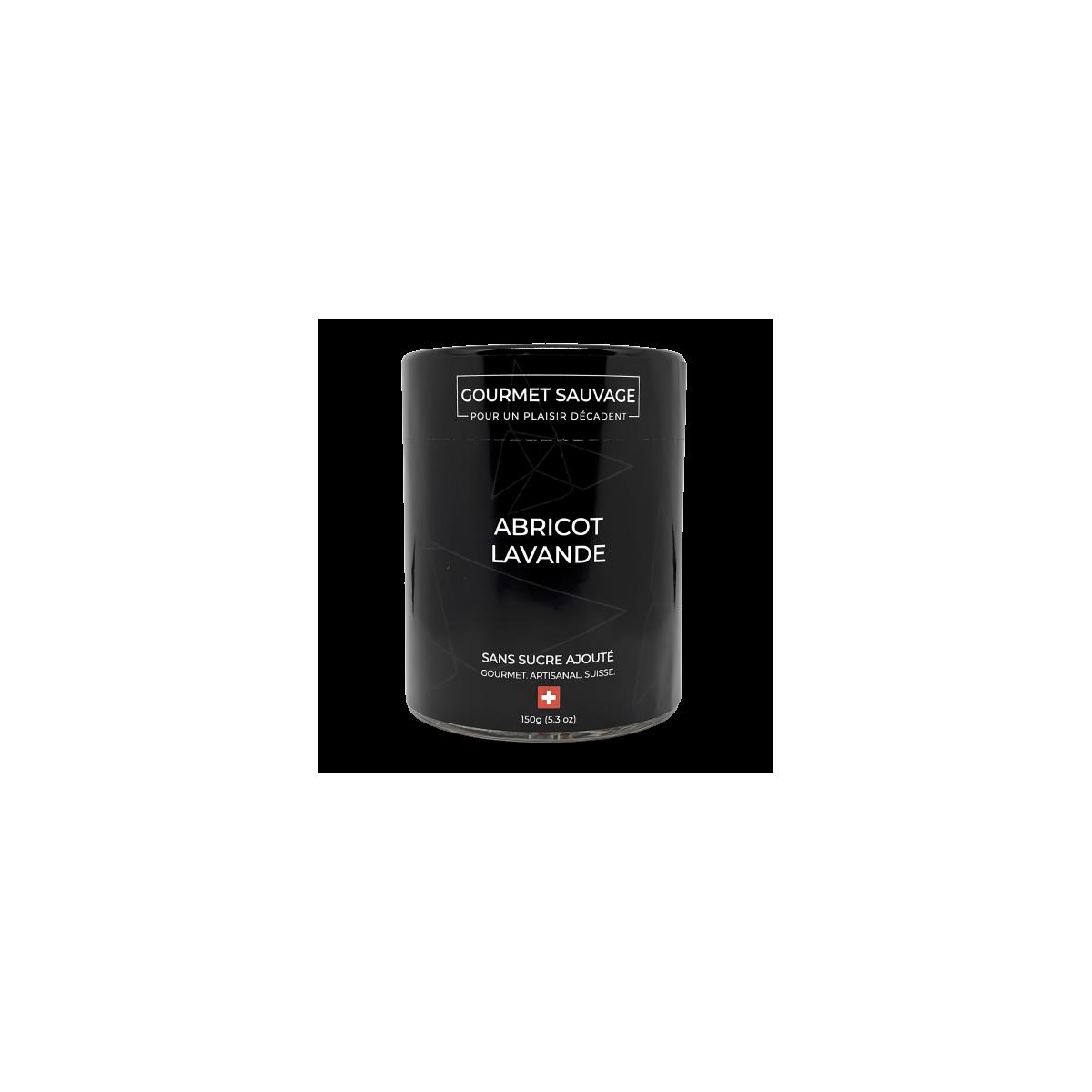 Confiture Abricot Lavande sans sucre - Gourmet Sauvage - Sucré - GS1