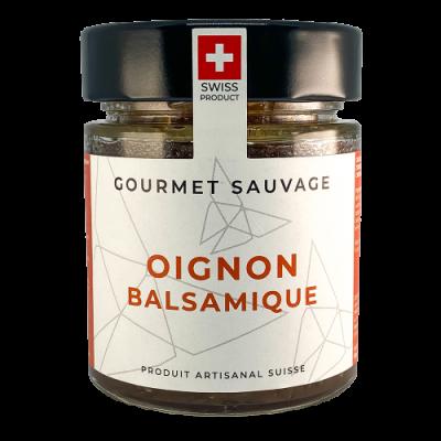 Confiture Oignon Balsamique - Gourmet Sauvage - Salé - GS4