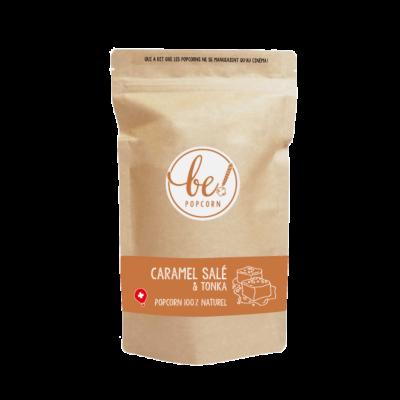 Popcorn au Caramel salé & tonka - Be! Popcorn - Sucré - BP3