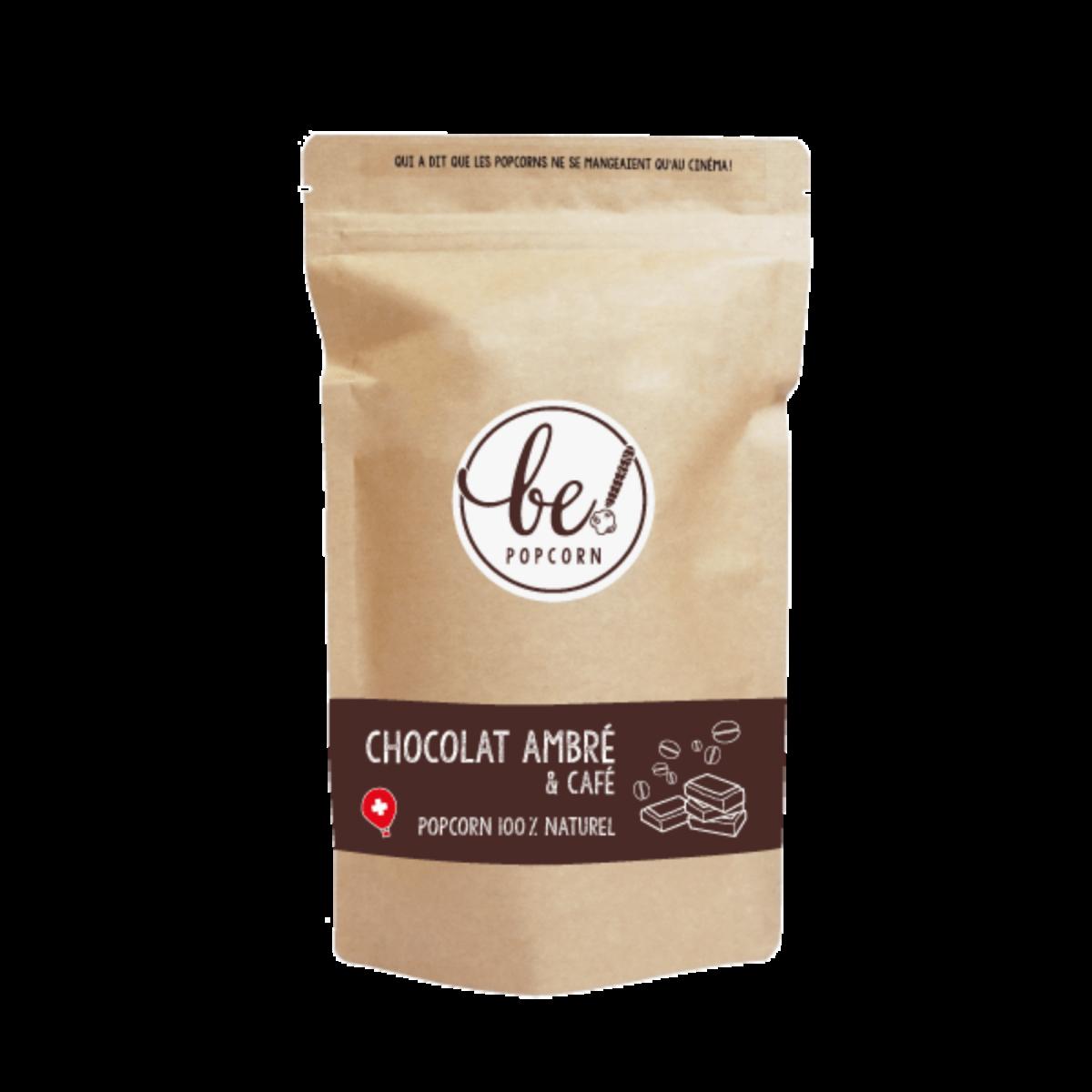 Popcorn au Chocolat ambré & café - Be! Popcorn - Sucré - BP4