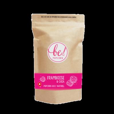 Popcorn Framboise & graines de chia - Be! Popcorn - Sucré - BP9