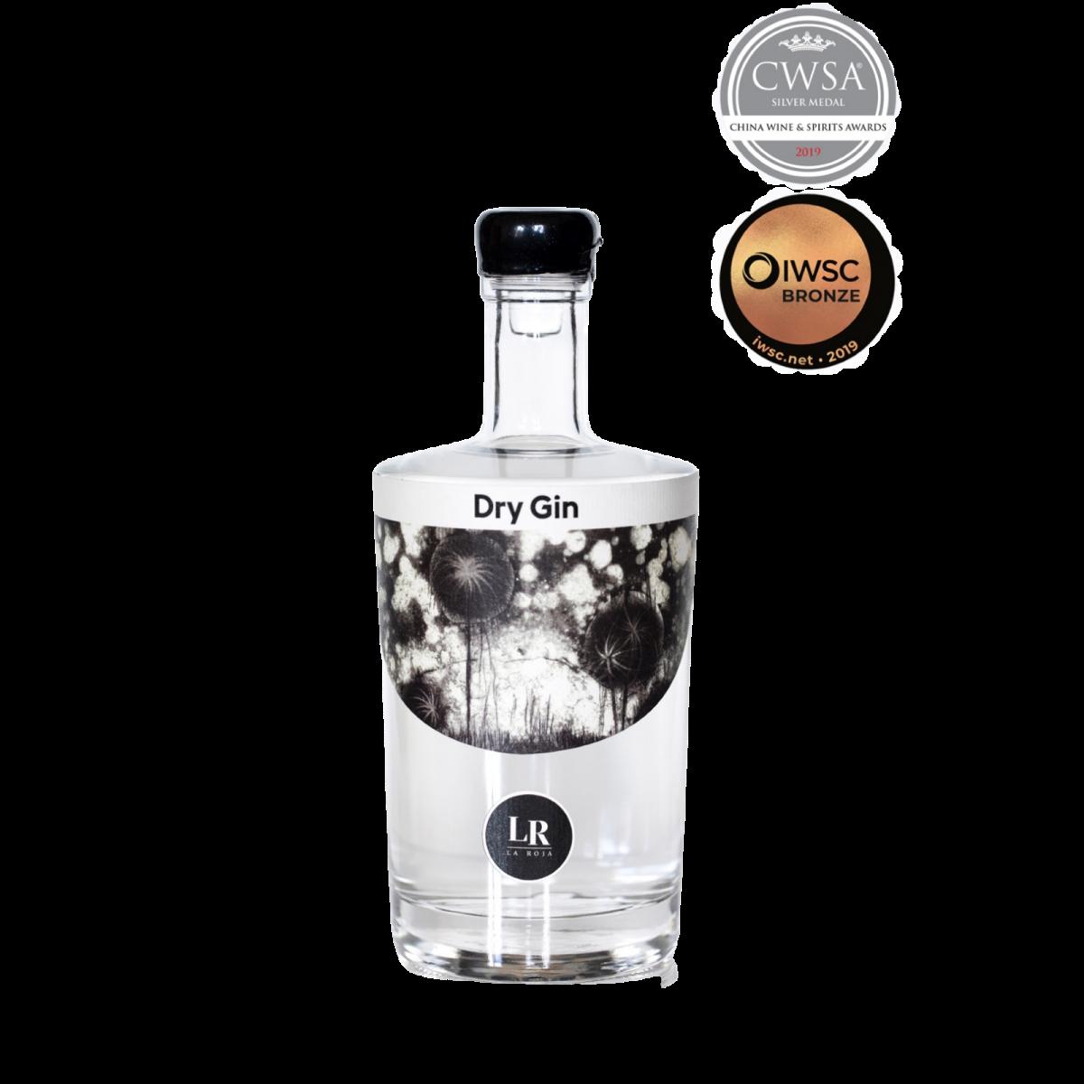 London Dry Gin 50 cl - Distillerie La Roja - Alcools - LR01