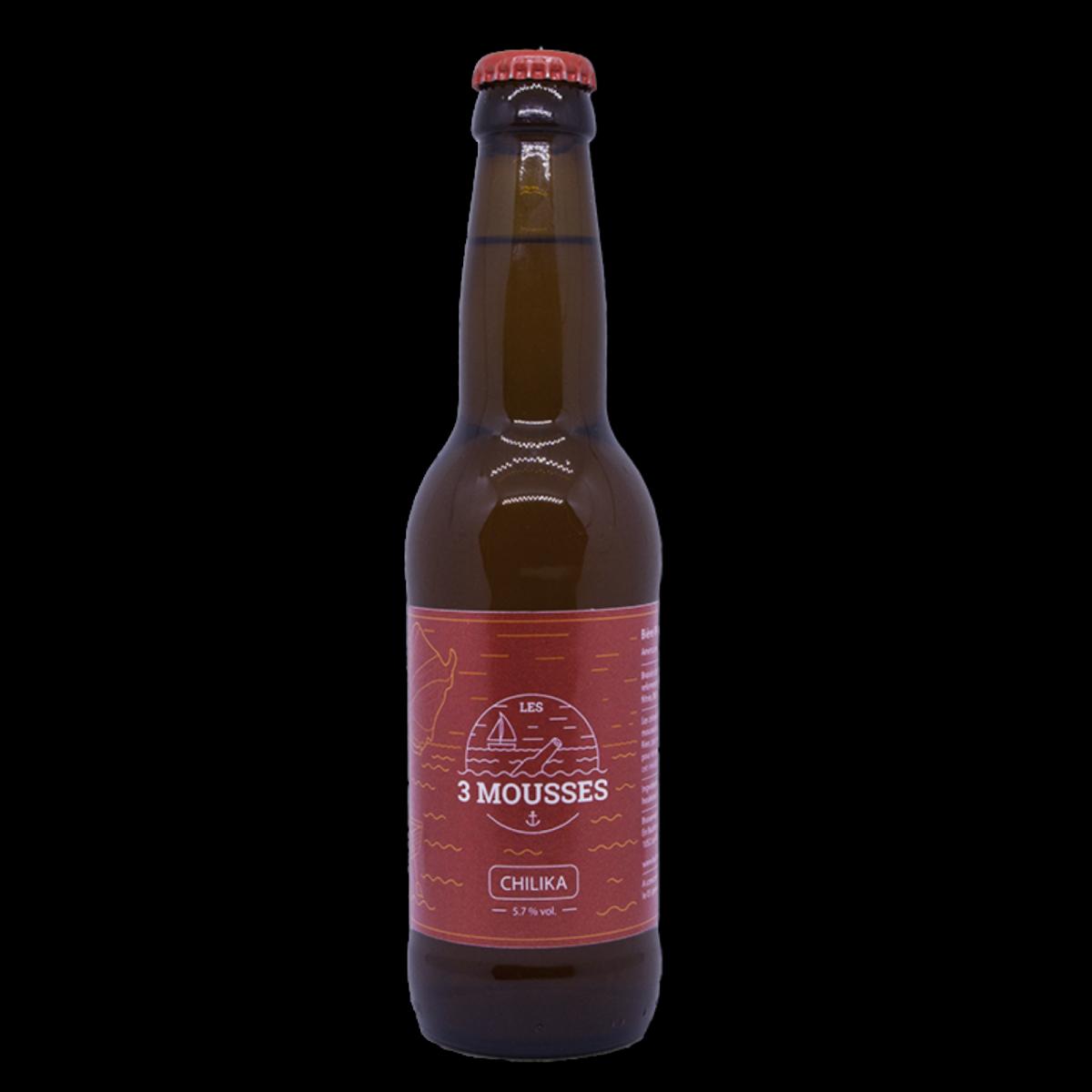 Chilika - Les 3 Mousses - Alcools - B3M6