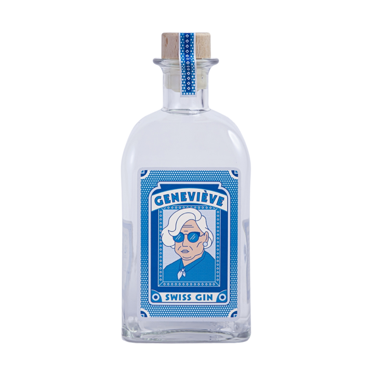 Gin Mamie Geneviève - Le Gin des Mamies - Alcools - GM1