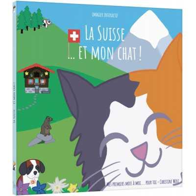 La Suisse…et mon chat! - Albiziabooks - Jouets et Livres - ALB5