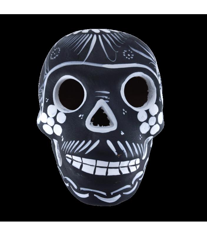 Calavera - Tête de mort - noire - Nayu - Décoration - NYU7-1