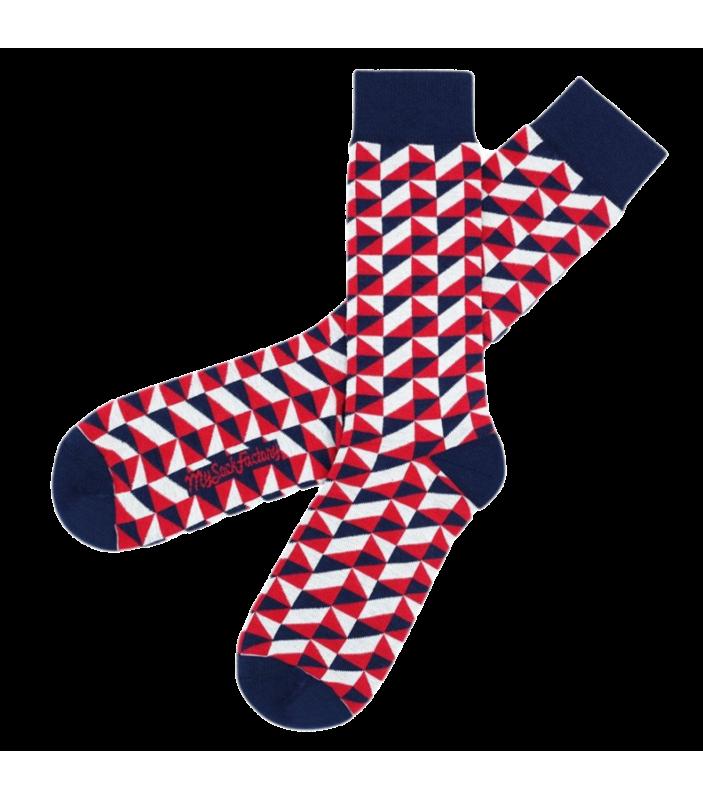 Chaussettes Nerd - My Sock Factory - Homme et Femme - MSF18