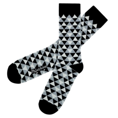 Chaussettes Black'n'Roll - My Sock Factory - Homme et Femme - MSF199