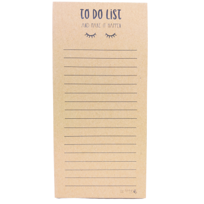 Carnet To Do List - Faire Part-à-Part - Carnets - FPAP03