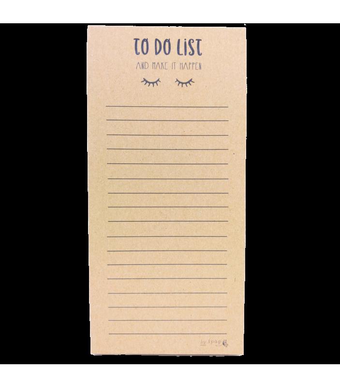 Carnet To Do List - Faire Part-à-Part - Carnets - FPAP03