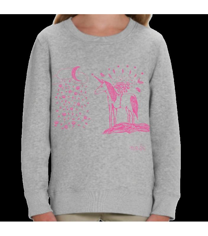 Sweat enfant Licorne - Let me fly - Vêtements et Accessoires -